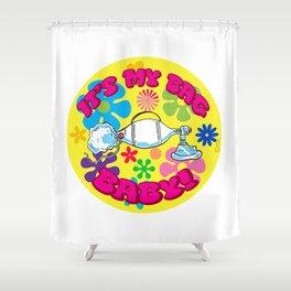It's My Bag, Baby: ICU Nurse Humor Shower Curtain