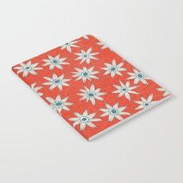 sema fire orange blue Notebook