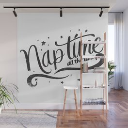 Nap time all the time Wall Mural