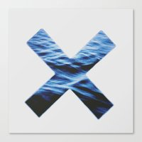 the xx Canvas Prints featuring XX by Allison Wisdom