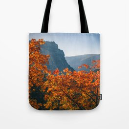 Autumn in Yosemite Valley Tote Bag