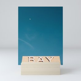 Bay Theater, Seal Beach Mini Art Print