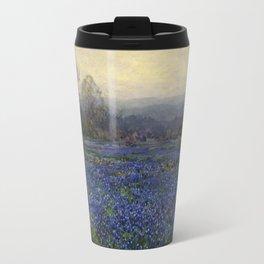 Julian Onderdonk - Field of Bluebonnets Travel Mug