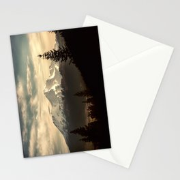 Mount Shasta Waking Up Stationery Cards