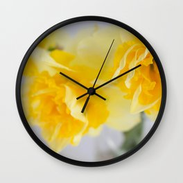 Spring Greeting Wall Clock