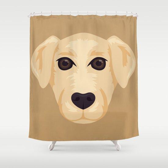 Wonderful Labrador Shower Curtain