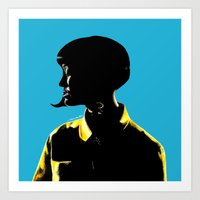 Katy Perr Portrait Art - This Is How We Do (Music Video)  Art Print
