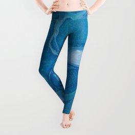 blue1 Leggings