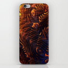 Lava Flow Abstract iPhone Skin