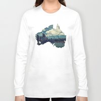 australia Long Sleeve T-shirts featuring Australia by elysiancreations