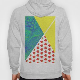 Ready strawberry play tennis graphic Hoody