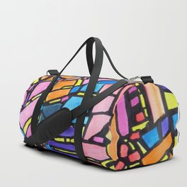 Stained Glass Montage Duffle Bag