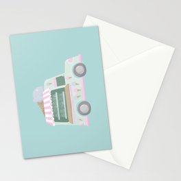 Ice Cream Truck Stationery Cards