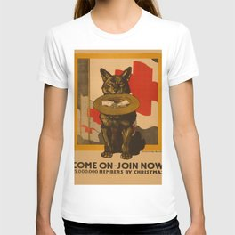 Vintage poster - Come On, Join Now T-shirt
