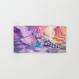 Alyssa in Alice costume Hand & Bath Towel