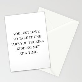 Are You F*cking Kidding Me Stationery Cards