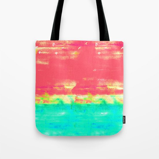 Magenta Sky Tote Bag