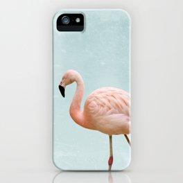 Flamingo Summer Vibes iPhone Case