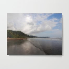 Playa Dominical Metal Print