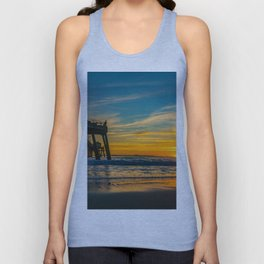 Sunset Splash Unisex Tank Top