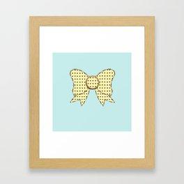 lonely bows 5  Framed Art Print