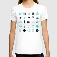 8 bit T-shirts featuring 8-Bit Bling by Spires