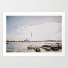 Balboa Island Art Print