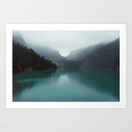 Blanca Lake Art Print