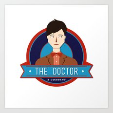 The Doctor & Company Art Print
