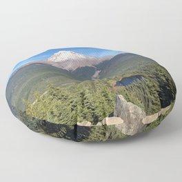 oh hello Mount Hood Floor Pillow