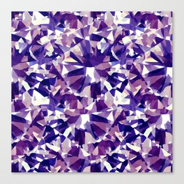 Purple Diamond Canvas Print