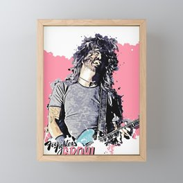 DaveGrohlFoo Fighters Framed Mini Art Print