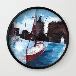 Boston Waters Wall Clock