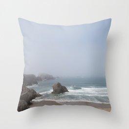 Bandon Beach Throw Pillow