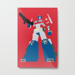 Transformers G1 - Optimus Prime Metal Print