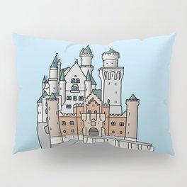 Neuschwanstein Castle Pillow Sham