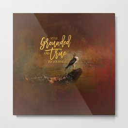 Ground Level Metal Print