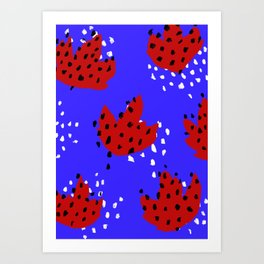 Spotted Art Print