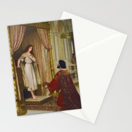 """Edmund Blair Leighton """"The King and the Beggar-maid"""" Stationery Cards"""
