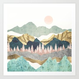 Summer Vista Art Print