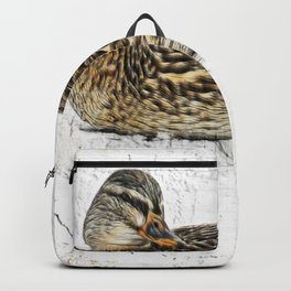 Mallard Hen Backpack