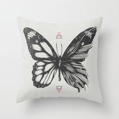 Delicate Existence Throw Pillow