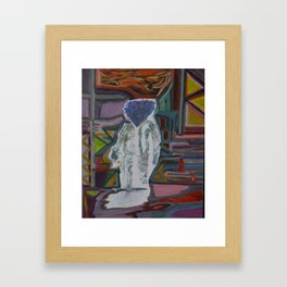 Where Wolf Framed Art Print