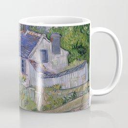 Vincent van Gogh - Houses at Auvers (1890) Coffee Mug