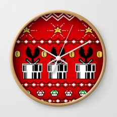 8bitChristmas Wall Clock