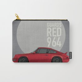 1991 Guards Red Carrera 2 964 Joe Gaspar Carry-All Pouch