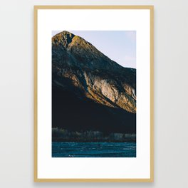 Fire on the Mountain III Framed Art Print