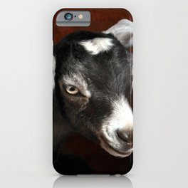 The Little Goat iPhone Case