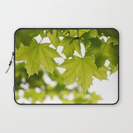 The Green Leaves of Summer Laptop Sleeve