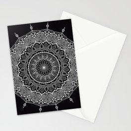 Mandala Black&White Stationery Cards